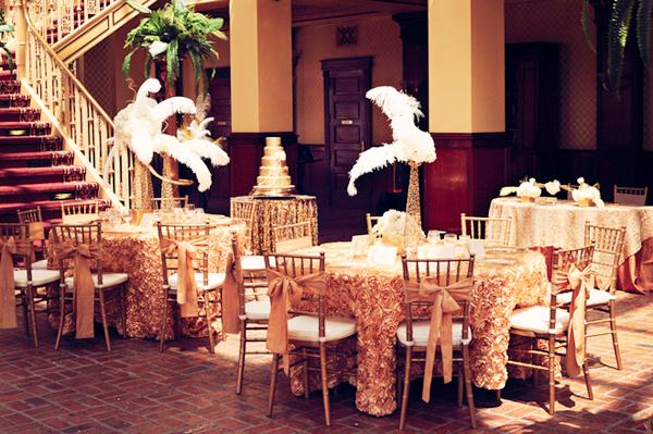 Tiệc cưới cảm hứng từ `Gatsby vĩ đại`