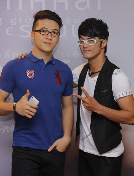 Hot boy Tăng Phúc sắp tới sẽ kết hợp cùng Lâm Vinh Hải trong một số dự án.