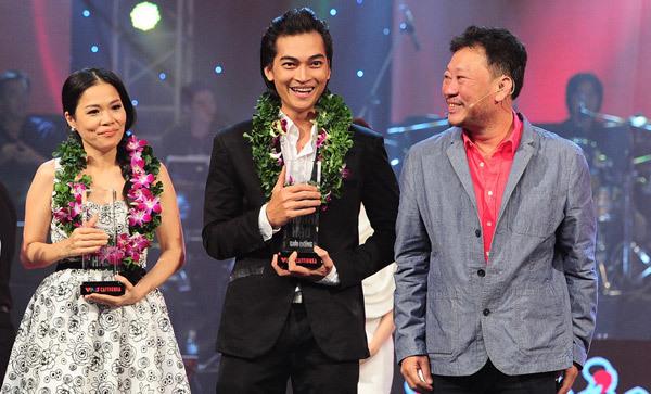 Cặp đôi Mỹ Lệ - Khương Ngọc giành giải ba với phần thưởng 150 triệu đồng.