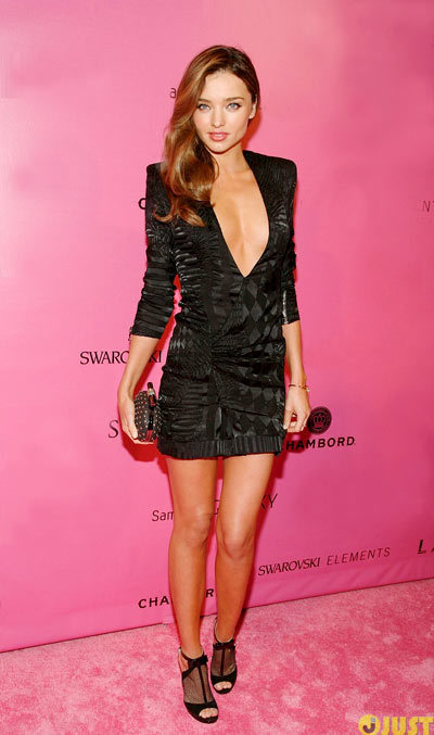 Miranda Kerr gorgeous at the 2012 Victorias Secret Fashion Show after party held at Lavo New York City on Wednesday (November 7) in New York City.