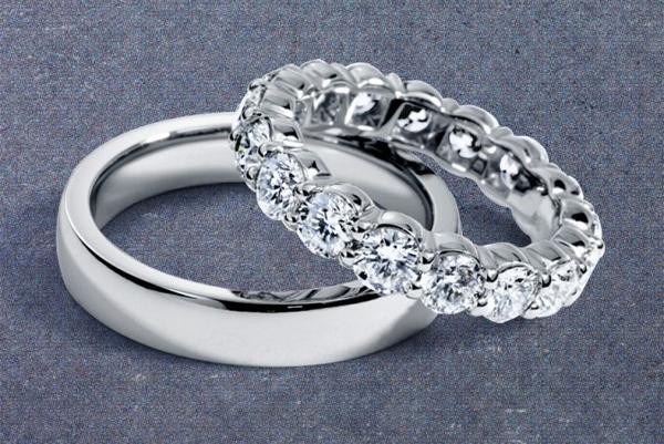 6 lý do để chọn nhẫn cưới bạch kim
