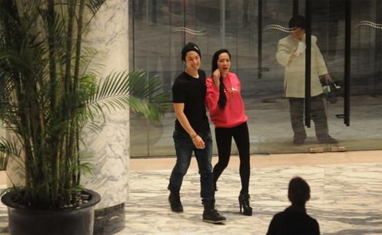 Ngô Kiến Hào và bạn gái Arissa Cheo.