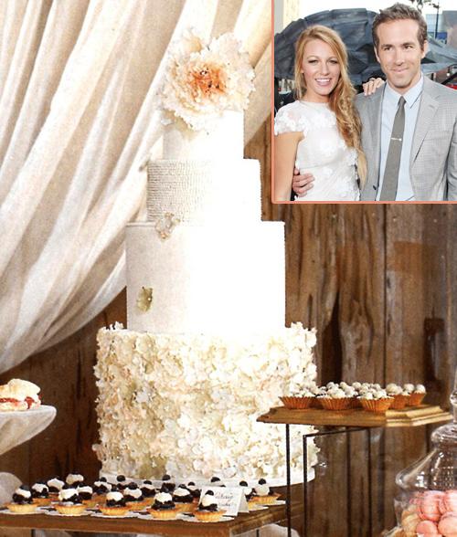 Bánh cưới ấn tượng của các sao thế giới