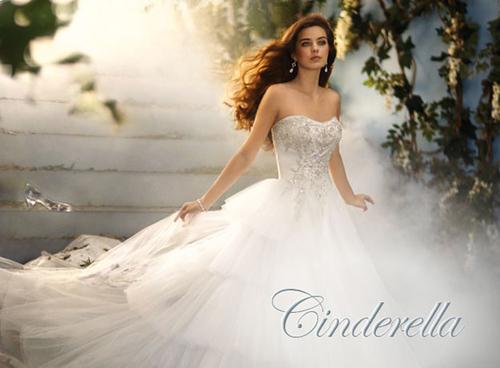 Váy cưới quây lấy cảm hứng từ Walt Disney