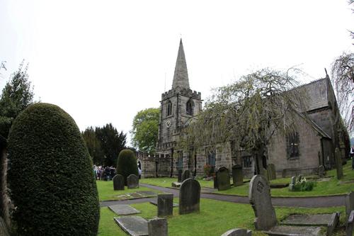 Nhà thờ nơi Jessica Ennis làm lễ cưới được xây dựng từ thế kỷ 14 với khung cảnh thơ mộng, yên bình, đẹp như tranh vẽ.