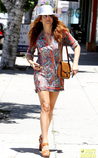 Kate Walsh rocks a colorful dress as she heads out to run some errands on Tuesday (May 14) in Los Angeles. The 45-year-old actress.