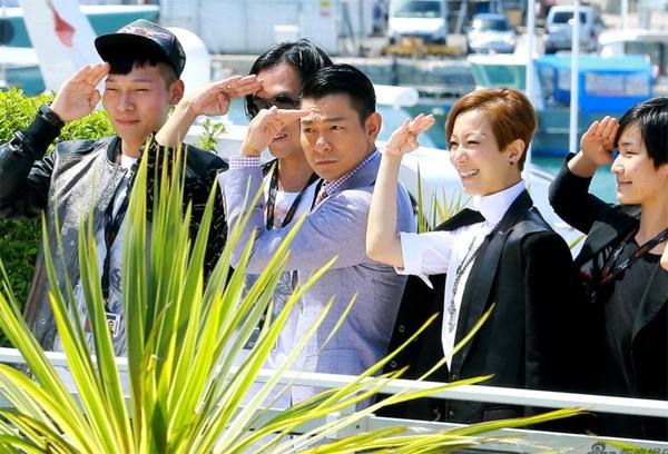 Lưu Đức Hoa tham dự Liên hoan phim Cannes 66.