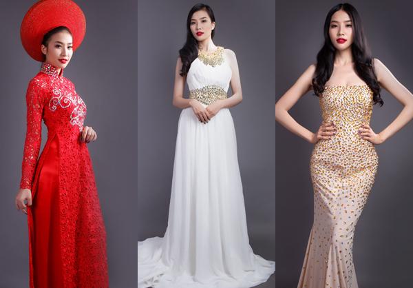 Chọn combo váy cưới cùng Á hậu Minh Thư