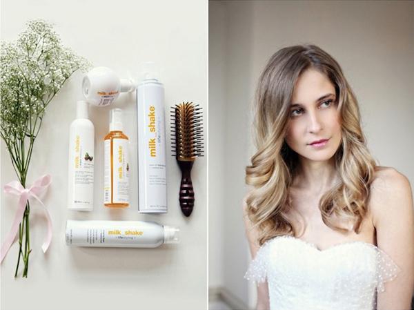 Đầu tiên, làm sạch tóc bằng dầu gội và dầu xả có chứa độ ẩm cao để bảo vệ sợi tóc.