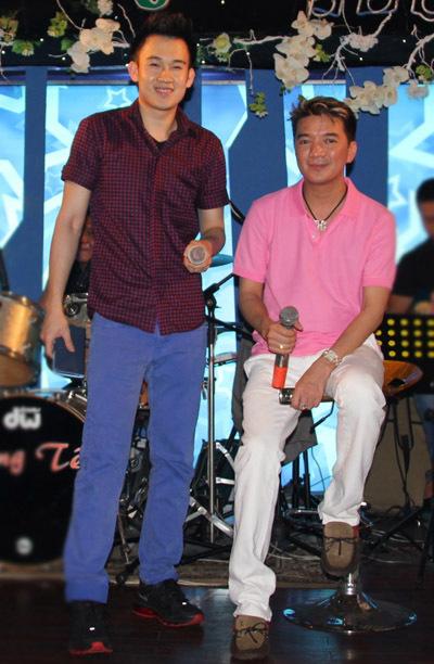 Dương Triệu Vũ cũng có mặt trong buổi tập.