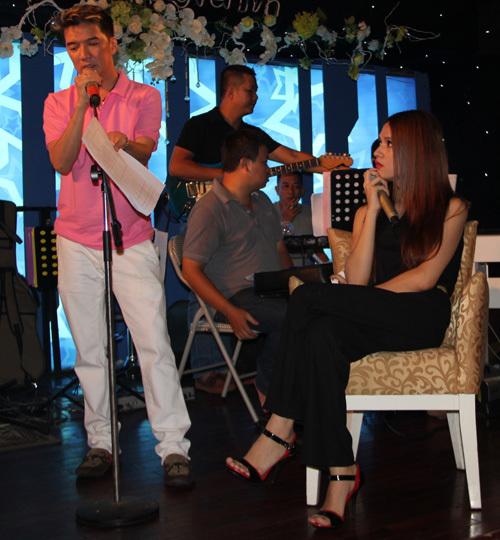 Hương Giang Idol sẽ đóng vai cô nữ sinh ngây thơ có mối tình trắc trở với Mr.Đàm.