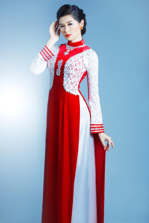 Chất liệu voan và chiffon thường chỉ sóng đôi trong mẫu váy cưới nhưng