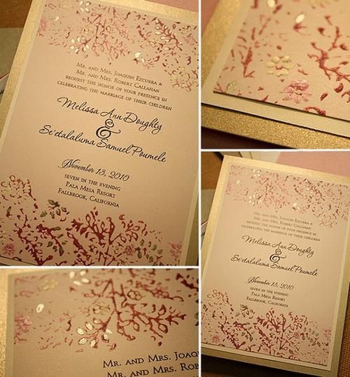 Đám cưới vàng đồng lấp lánh sang trọng