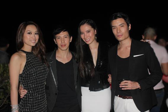 Cựu người mẫu Quỳnh Thy, ca sĩ Ethan Thoi cũng có mặt chung vui với Phillip Lê.