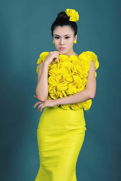 Tăng Huỳnh Như từng là quán quân 'Viet Fashion Icon 2012'.