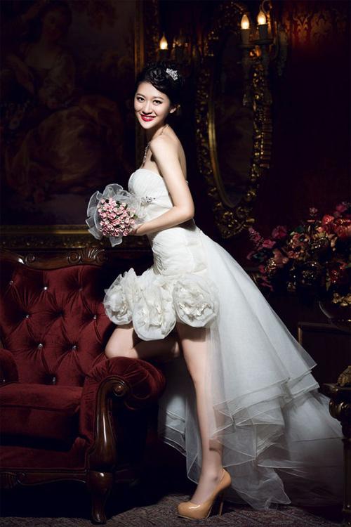 Cô dâu Dương Tịnh Như.