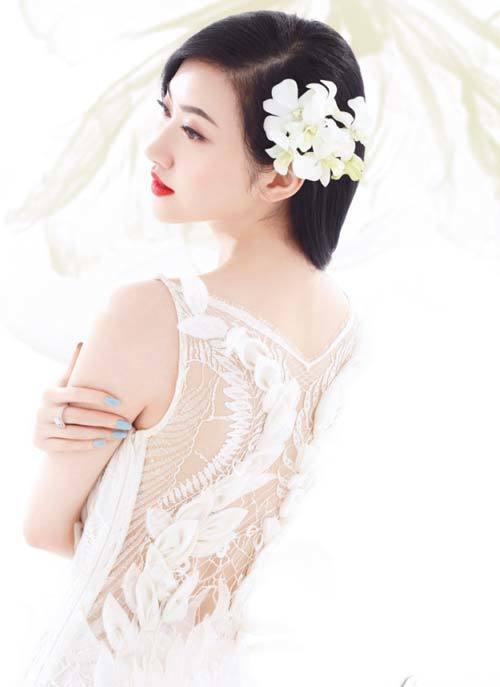 Cảnh Điềm, cô dâu yêu kiều.
