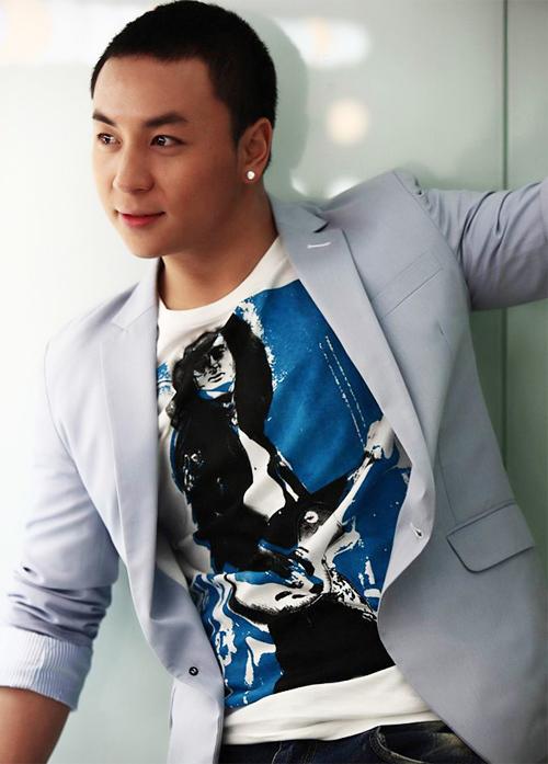 Nam diễn viên Thích Tiểu Long.