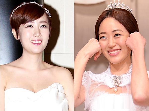 Mẹo trang điểm cưới của sao Hàn
