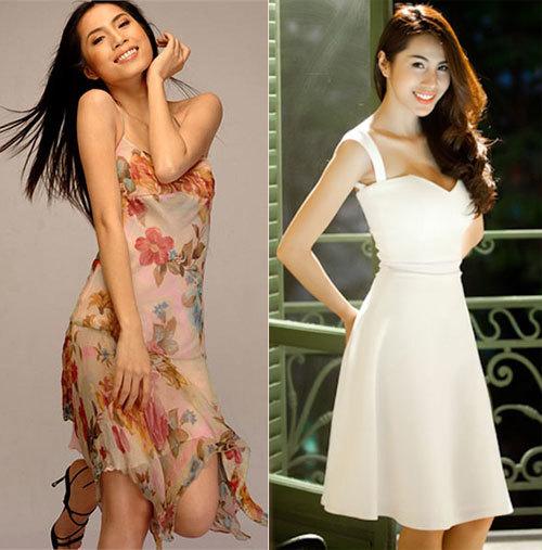 Cách lựa chọn trang phục khéo léo cũng góp phần làm vòng một thêm quyến rũ.