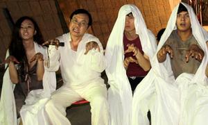 Hậu trường vui của phim kinh dị 'Biết chết liền'
