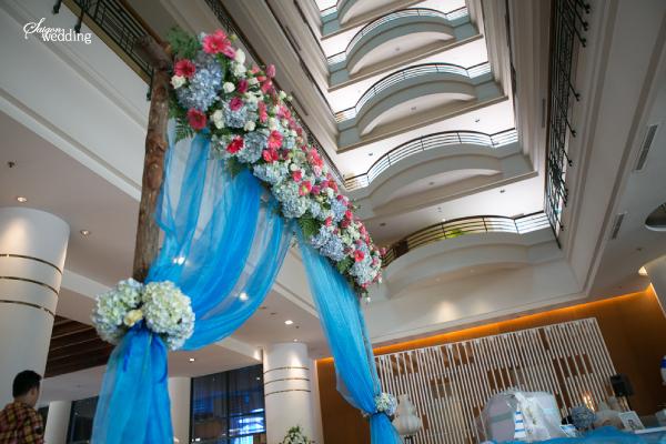 Đám cưới mùa hè mang phong cách biển