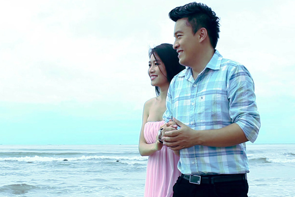 MV được quay tại nhiều nơi với hình ảnh lãng mạn.