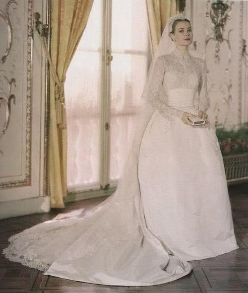 Váy cưới cảm hứng từ Công nương Grace Kelly