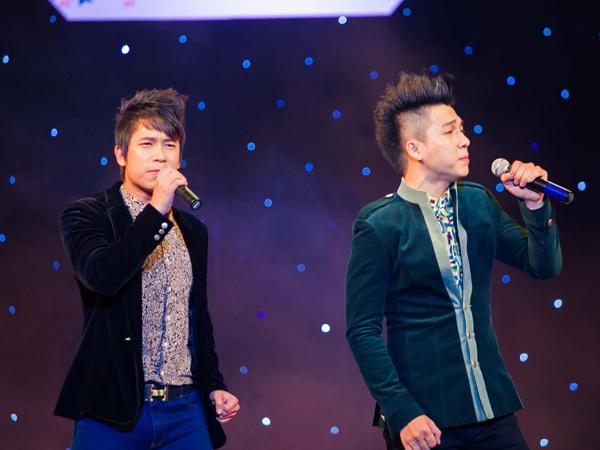 Nhóm The Men mang đến chương trình ca khúc hit 'Chính là em'.