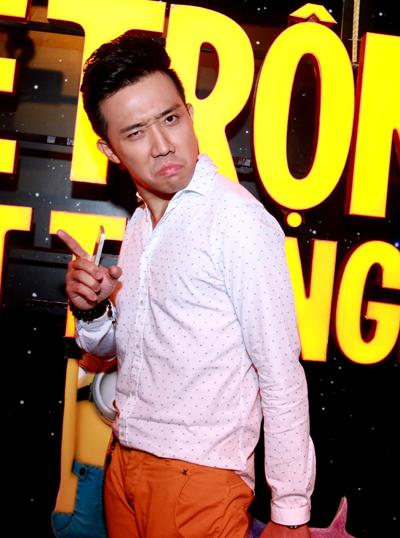 MC Trấn Thành lồng tiếng cho nhân vật 'ông trùm' tinh quái Gru trong phim.