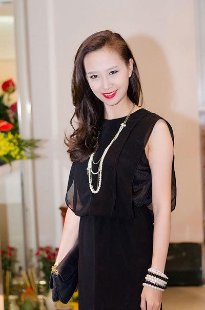 Hoa hậu Biển Vũ Ngọc Diệp.