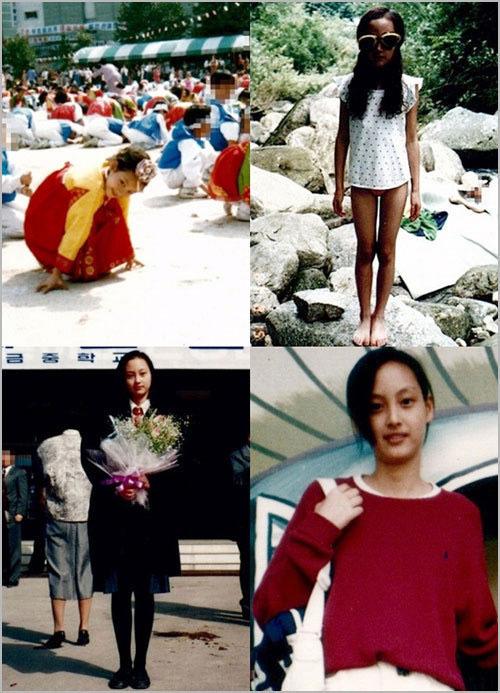Những hình ảnh Lee Na Young từ thời còn thơ ấu đã được khán giả rất quan tâm, sau khi thông tin cô hẹn hò tài tử Won Bin được xác nhận.