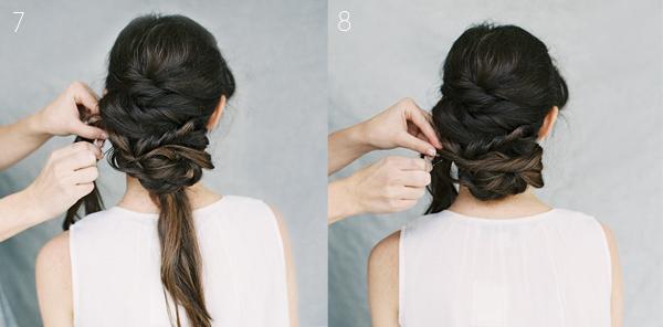 """Không nên tạo búi tóc quá dài sẽ gây cảm giác nặng nề, """"nuốt"""" người cô dâu."""