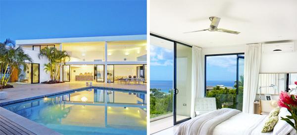 Ngôi nhà trên biển Caribbean là mơ ước của nhiều người.