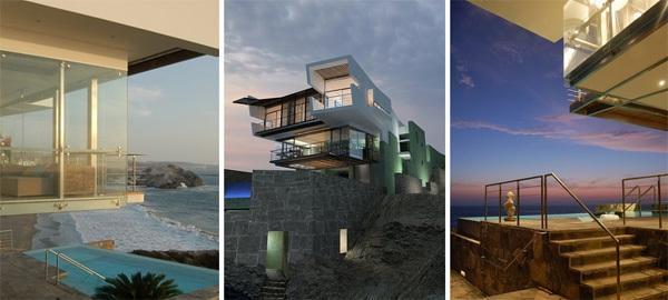 Ngôi nhà có thiết kế lạ mắt ở Peru.