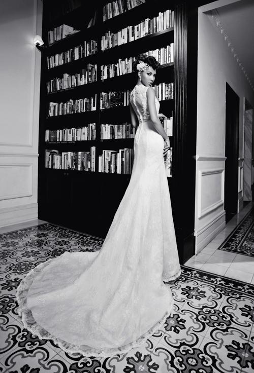 Các chuyên gia cũng khuyên rằng cô dâu có hình thể đẹp nên chọn những chiếc váy cưới