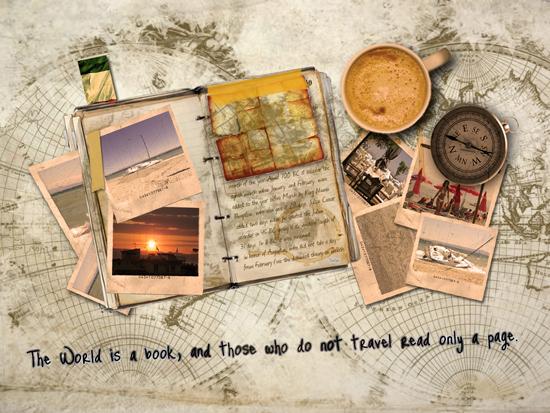 Thế giới giống như một cuốn sách, và những ai mà không đi du lịch sẽ giống như việc chỉ đọc một trang sách vậy.