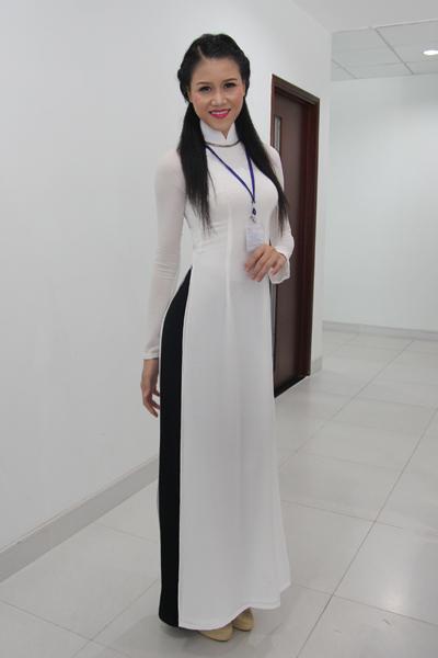 Bùi Thị Thùy Dương có ngoại hình hao hao Hoa hậu Thùy Dung. Ảnh: Tường Huy