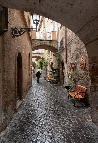 Thành phố Orvieto nằm ở tỉnh Terni, phía tây nam Umbria, Italy