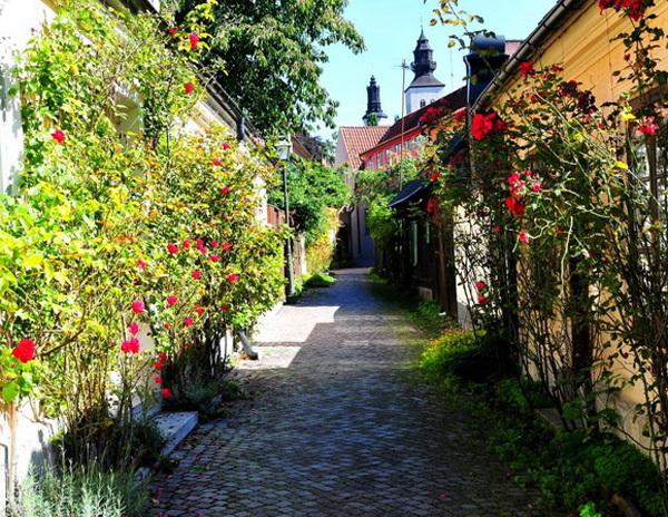 Fish Alley (hay còn gọi là Fiskargränd) là con phố