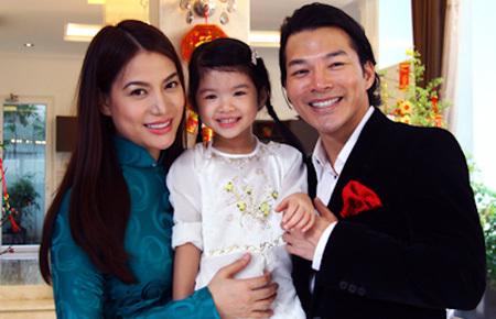 Gia đình nhỏ hạnh phúc của diễn viên Trương Ngọc Ánh.