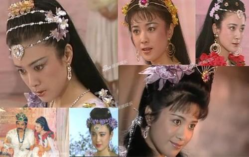 """Phó Nghệ Vỹ trong vai nàng Đát Kỷ của """"Bảng Phong Thần"""", phiên bản năm 1990."""