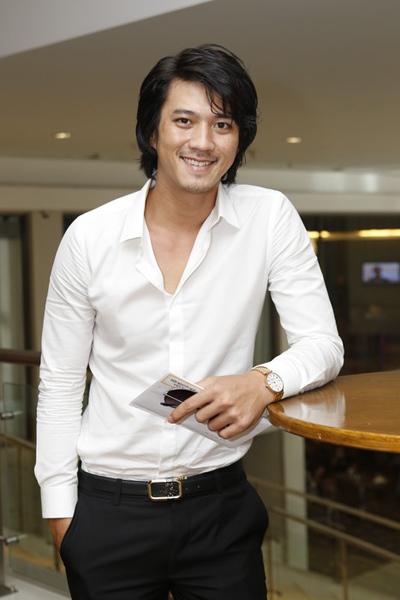 Người mẫu - diễn viên Hà Việt Dũng của phim 'Mùa hè lạnh'.