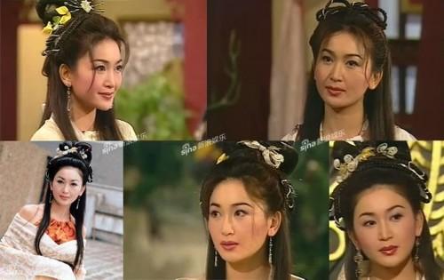 """Ôn Bích Hà, nàng Đát Kỷ của TVB, trong bộ phim """"Bảng phong thần"""" năm 2001."""