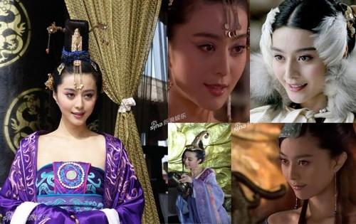 """Phạm Băng Băng trong vai nàng Tô Đát Kỷ của """"Tân phong thần bảng"""" năm 2007."""