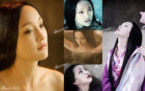 """Hồ ly Châu Tấn trong """"Họa bì"""" năm 2008."""