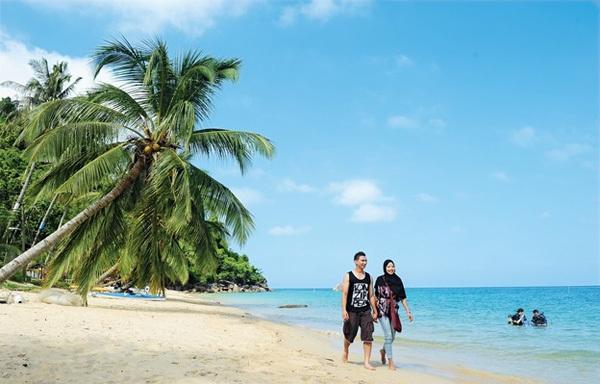 Vẻ đẹp tự nhiên và hoang dã ở Tioman là thiên đường với những người mê nhiếp ảnh. Ảnh: CNN Travel