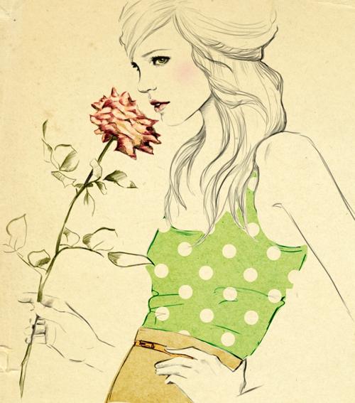 Người ta chỉ dùng nước hoa khi bắt đầu yêu.