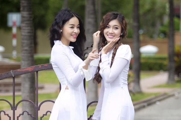 Cả hai vừa được vào vòng chung kết Miss Ngôi Sao 2013.