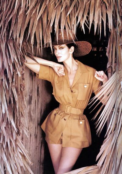 Nàng kiêu mẫu khoe phong thái ấn tượng trong bộ hình trên tạp chí.